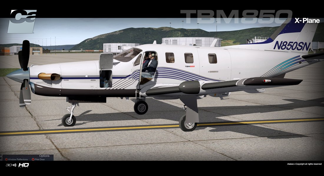 Home gt general aviation gt carenado gt tbm 850 hd series