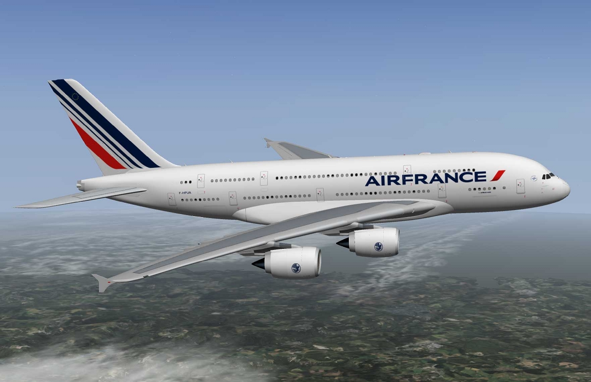 Airbus a380 air france xp10 for A380 air france interieur