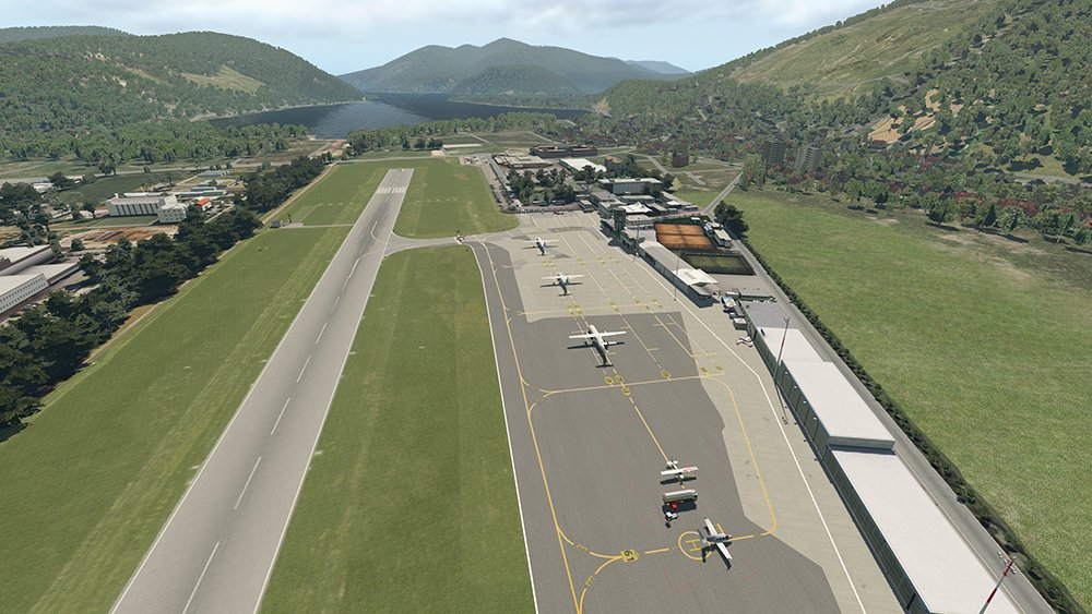 Airport Lugano XP11