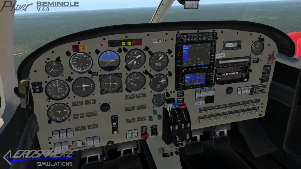 Pa44 180 Piper Seminole V4