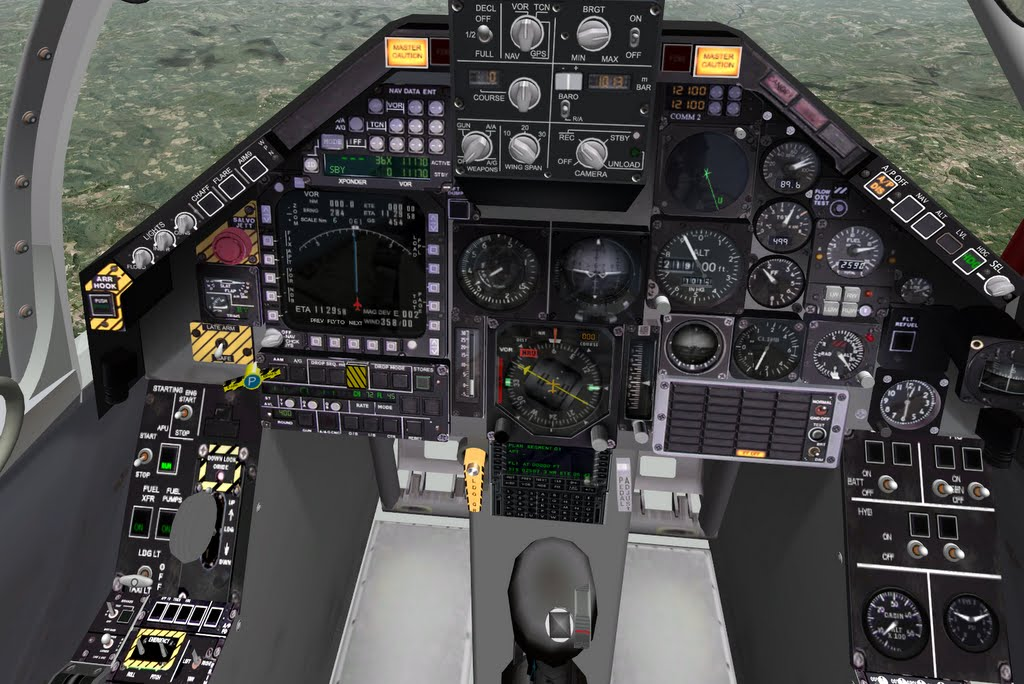 Amx international fighter advanced simulation