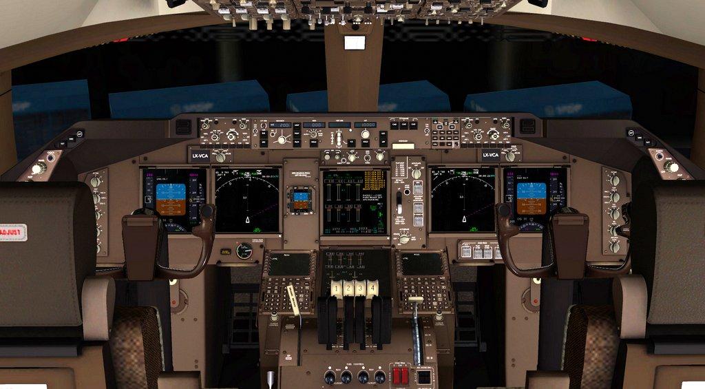 B 747 8 Inter Advanced