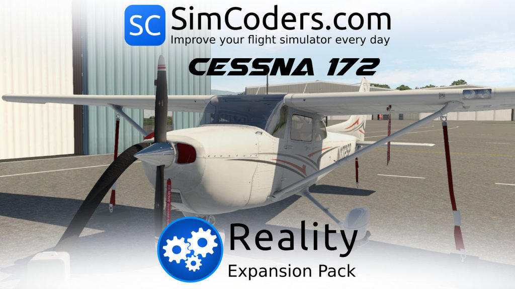 Reality Expansion Pack For X P 11 Cessna 172SP Skyhawk