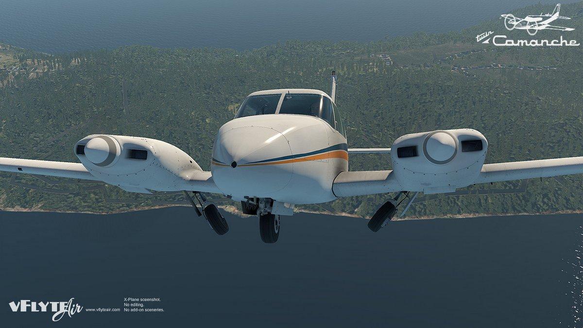 Piper Twin Comanche Pa30