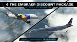 Embraer E175 and E195 v2.2 package by X-Crafts