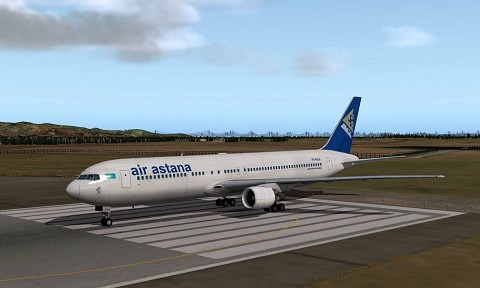 Asia Livery Pack #1 for 767-300