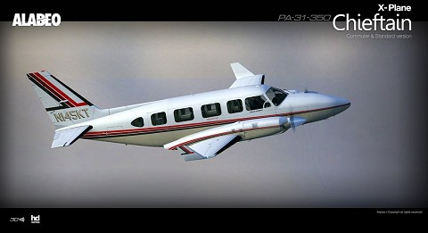 PA31 Chieftain 350 XP11