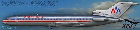 XPJETS American Classics 1 for 727-200Adv