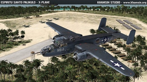 Pacific Islands  Airfields - WW2