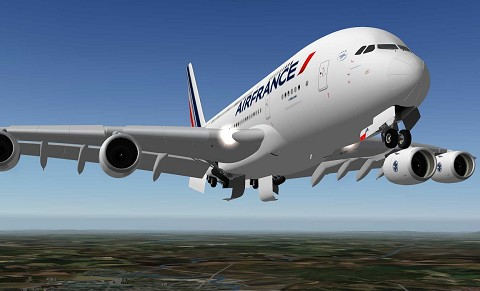 Airbus A380 Air France XP11