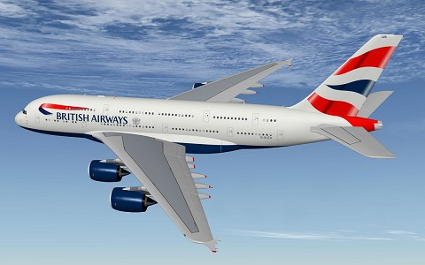 Airbus A380 British Airways XP11