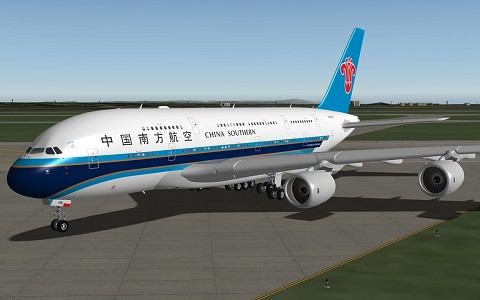 Airbus A380 China Southern XP10