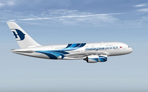 Airbus A380 Malaysia Airlines XP11