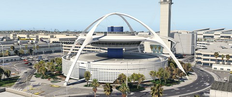 KLAX - Los Angeles International HD