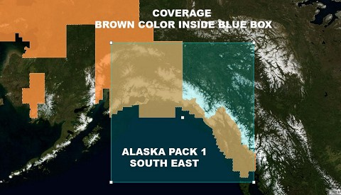 Alaska South East Ultra Res Mesh