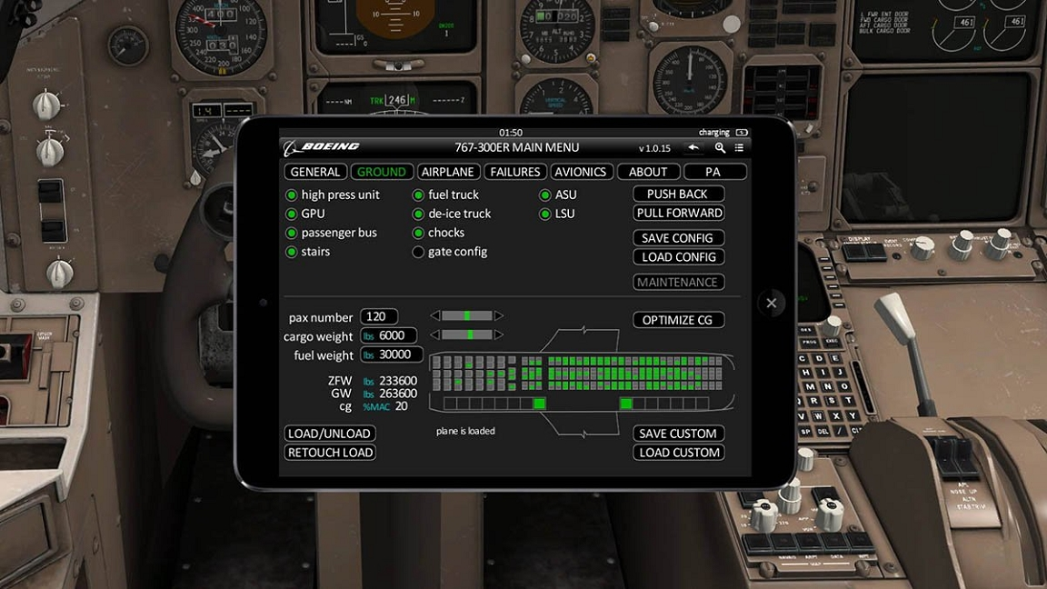 767 test flight ipad