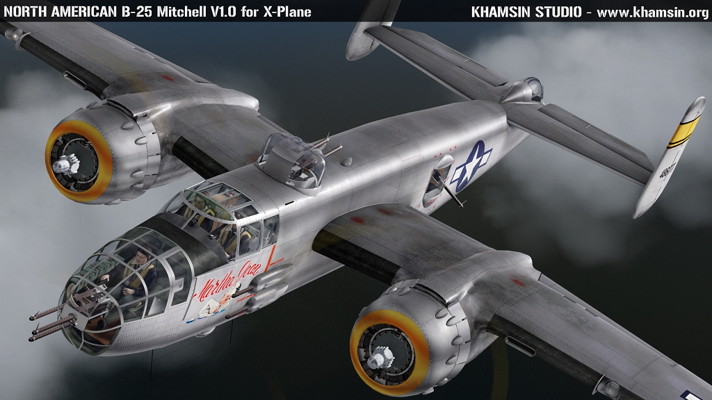 American Bombers Ww2 >> North American B-25 Mitchell