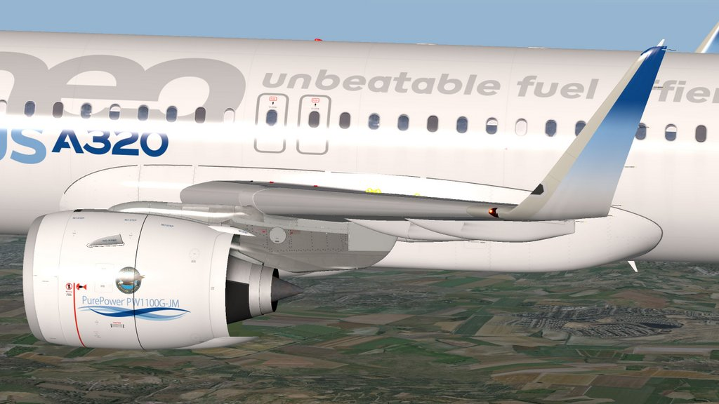 Airbus A320-271 Neo Pure Power