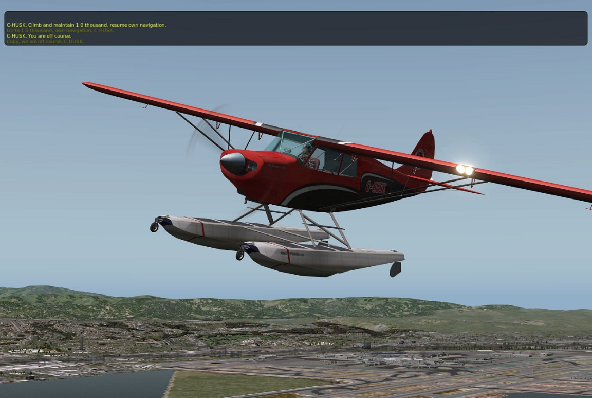 Bush Plane For Sale >> A-1A Husky Package XP10
