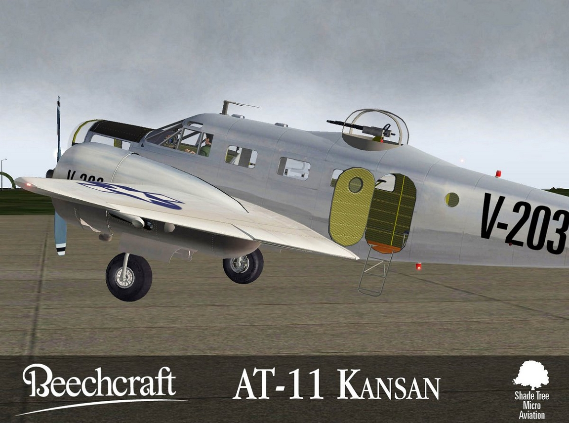 Beechcraft AT11 Kansan XP11