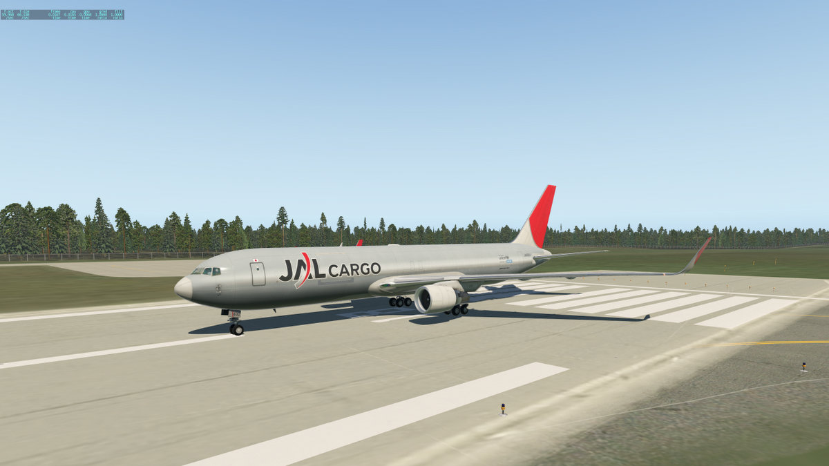 Cargo Livery Pack for 767 Extended