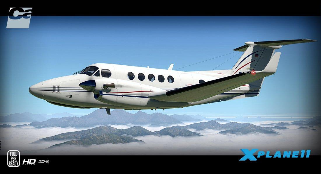 B200 King Air HD Series XP11