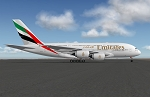 Airbus A380 Emirates XP11