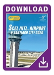 SCEL Santiago Airport and City 2020