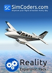 Reality Expansion Pack for Carenado B58 Baron XP10
