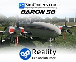 Reality Expansion Pack for Carenado B58 Baron XP11