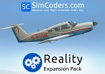 Reality Expansion Pack for JustFlight Piper Turbo Arrow III / IV