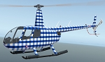 Flivver Flock #2: Stylish Set 2 for VSKYLABS Robinson R66 & R44