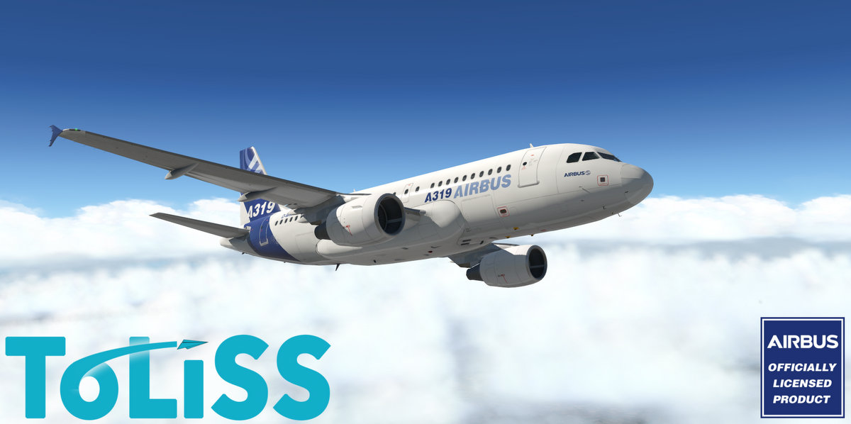 Airbus A319 by Toliss