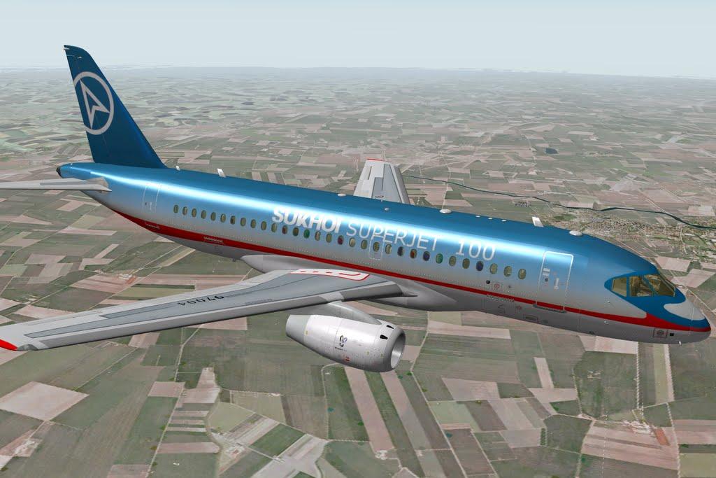 Sukhoi 100 Superjet Package