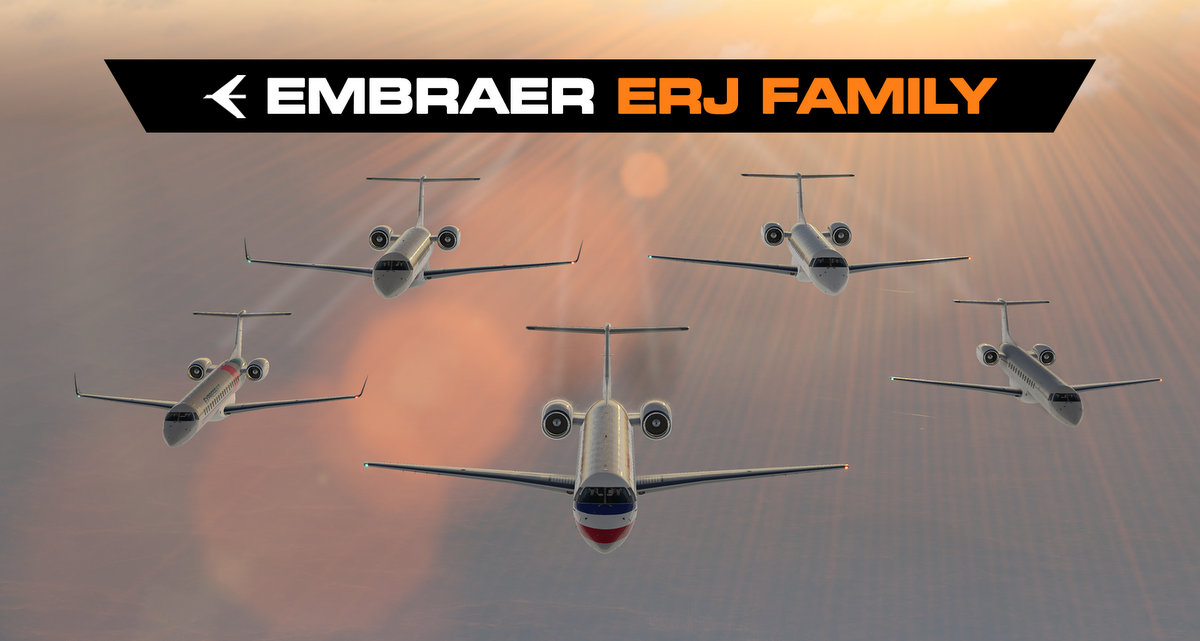 Embraer ERJ Family by X-Crafts