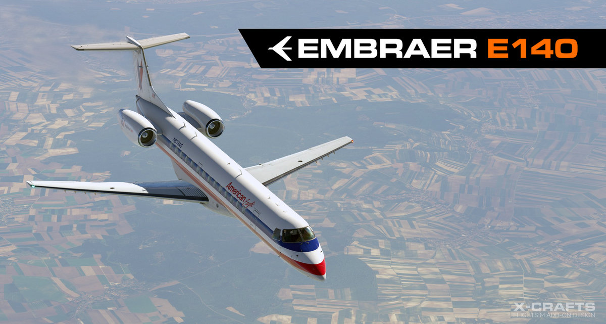 Embraer E140 by X-Crafts