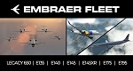 Embraer Fleet by X-Crafts