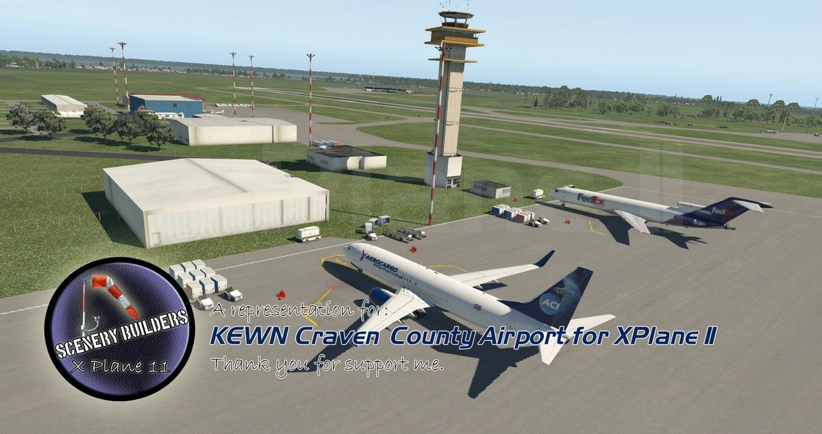 KEWN Craven County Regional Airport, NC