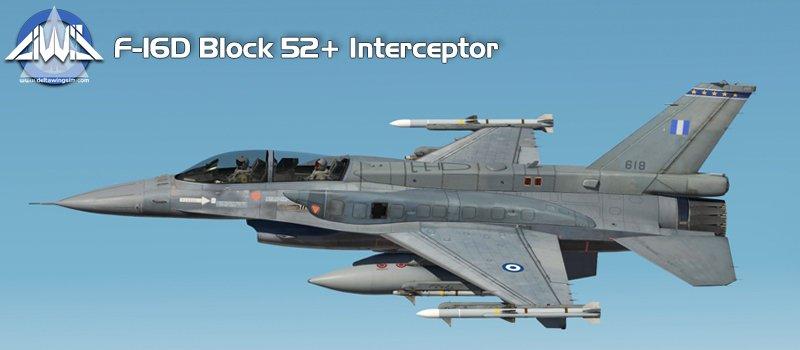 F-16D Block 52+ Interceptor -DeltaWing-F16D