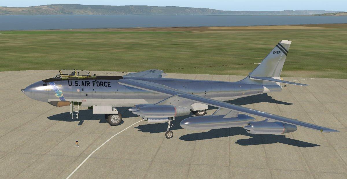Virtavia B-47E Stratojet