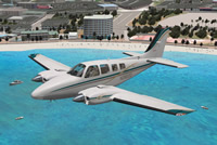 Carenado B58 Baron XP10