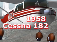 1958 Cessna 182 Package XP10