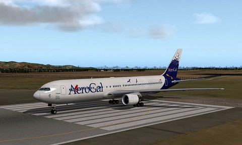 South America Livery Pack for 767-300