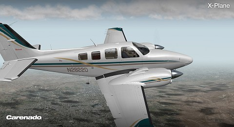 Carenado B58 Baron
