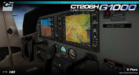 CT206H STATIONAIR G1000 EXTENSION PACK