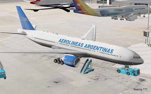 South American Pack for Boeing 777