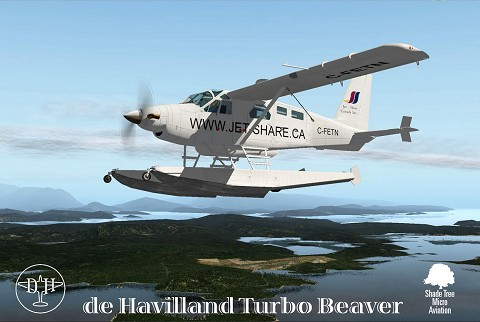 DHC-2  Beaver Turbo Package XP11