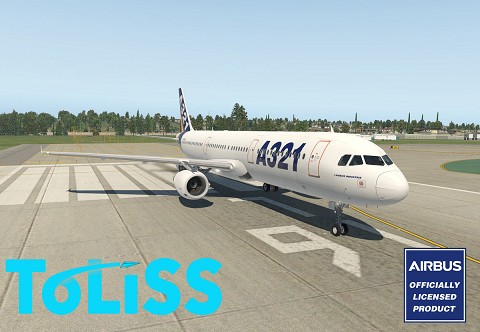 Airbus A321 by Toliss