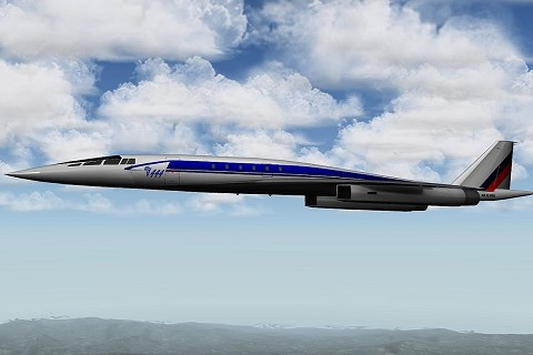 Tu-444 Supersonic Business Jet