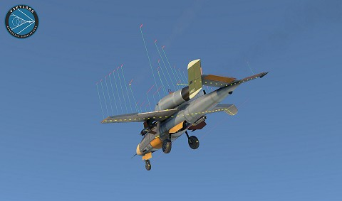 He-162 Project  - VSKYLABS 'Test-Pilot'
